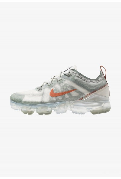 Black Friday 2019 - Nike AIR VAPORMAX 2019 - Chaussures de running neutres vintage lichen/ dark russet/light bone