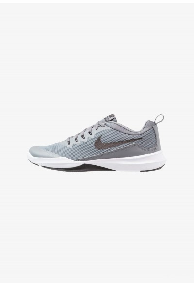 Black Friday 2019 - Nike LEGEND TRAINER - Chaussures d'entraînement et de fitness cool grey/black/white/clear emerald