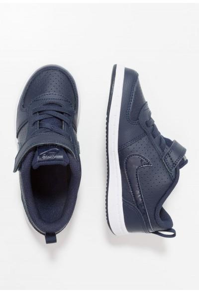 Nike COURT BOROUGH  - Chaussures premiers pas obsidian/white