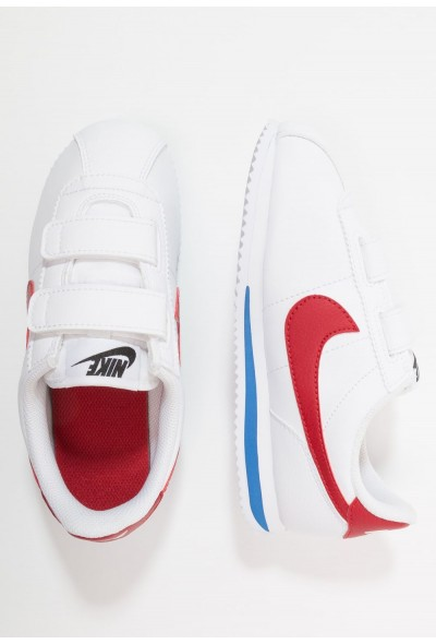 Nike CORTEZ BASIC - Baskets basses white/varsity royal/black/varsity red