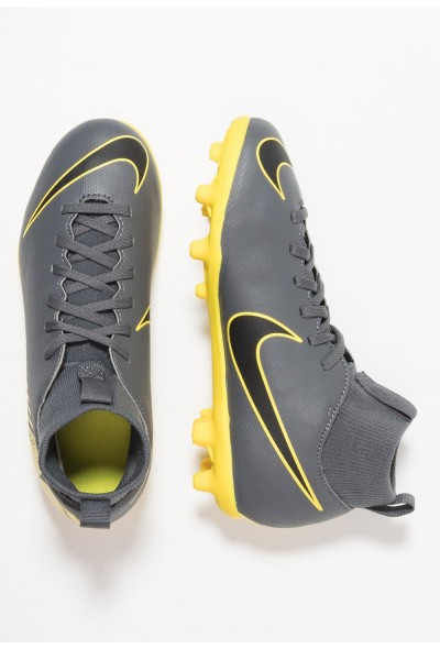 Nike CLUB MG - Chaussures de foot à crampons dark grey/black/opti yellow
