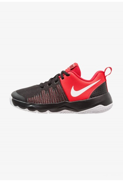 Nike TEAM HUSTLE QUICK - Chaussures de basket black/white/university red