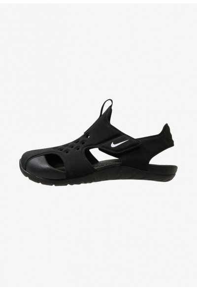 Black Friday 2019 - Nike SUNRAY PROTECT  - Sandales de bain black/white