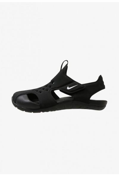 Nike SUNRAY PROTECT  - Sandales de bain black/white
