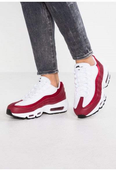 Nike AIR MAX 95 LX - Baskets basses red crush/white/black
