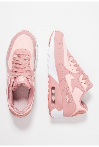 Nike AIR MAX 90 SE MESH (GS) - Baskets basses rust pink/storm pink/guava ice/white