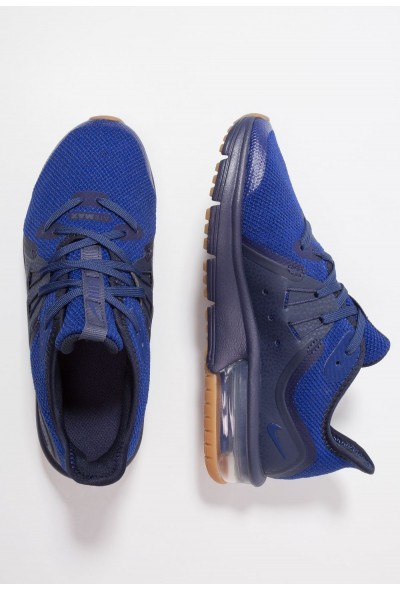 Nike AIR MAX SEQUENT 3 - Chaussures de running neutres obsidian/deep royal blue/neutral indigo