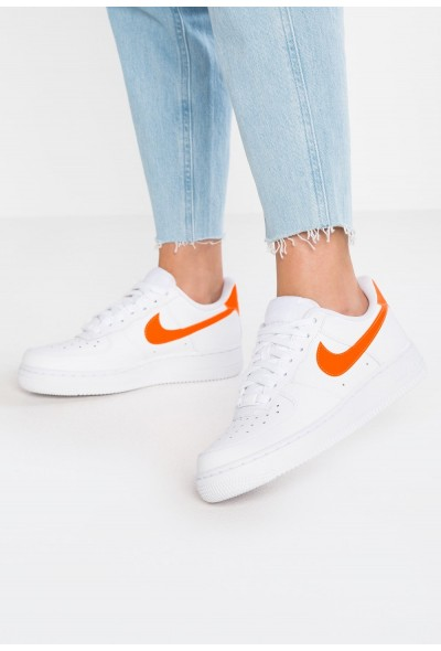 Black Friday 2019 - Nike AIR FORCE 1'07 - Baskets basses white/total orange