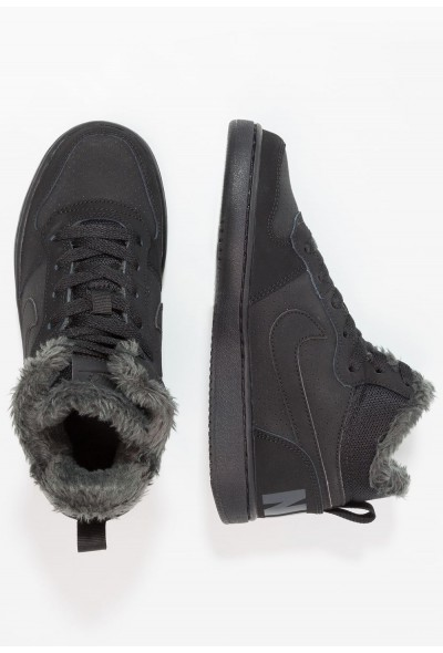 Nike COURT BOROUGH MID - Baskets montantes black/anthracite