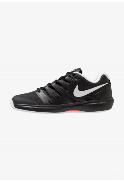 Nike AIR ZOOM PRESTIGE CLY - Chaussures de tennis sur terre battue black/white/bright crimson