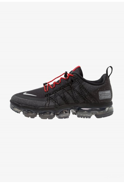 Nike AIR VAPORMAX RUN UTILITY - Chaussures de running neutres black/reflect silver/anthracite/habanero red