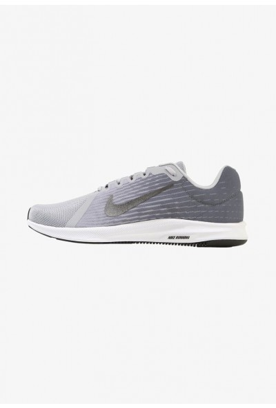 Nike DOWNSHIFTER 8 - Chaussures de running neutres wolf grey/metallic dark grey/cool grey/black/white