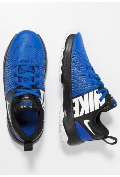 Black Friday 2019 - Nike TEAM HUSTLE QUICK - Chaussures de basket game royal/white/black