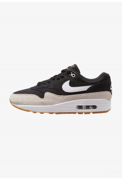Nike AIR MAX 1 - Baskets basses black/white/light bone