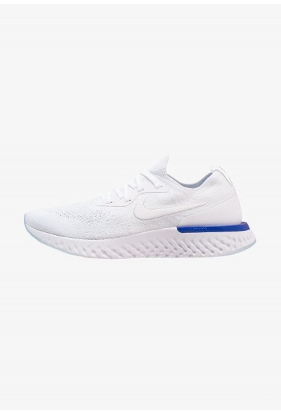 Nike EPIC REACT FLYKNIT - Chaussures de running neutres white/racer blue