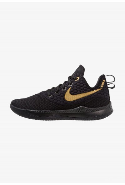 Black Friday 2019 - Nike LEBRON WITNESS III - Chaussures de basket black/metallic gold