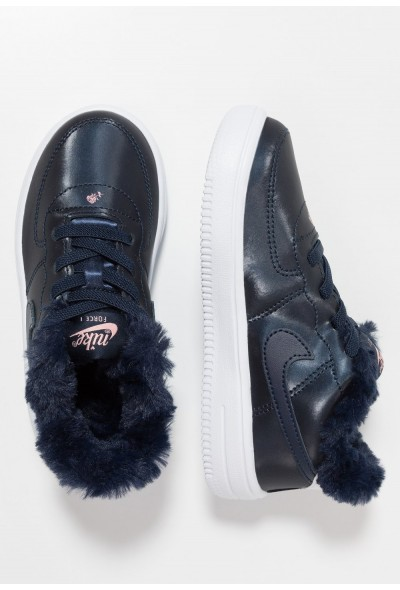 Nike FORCE 1 '18 VDAY - Mocassins obsidian/white/bleached coral