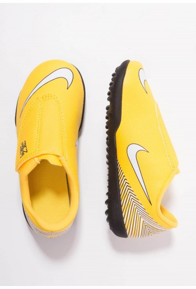 Nike MERCURIAL VAPORX 12 CLUB NJR TF - Chaussures de foot multicrampons amarillo/white/black