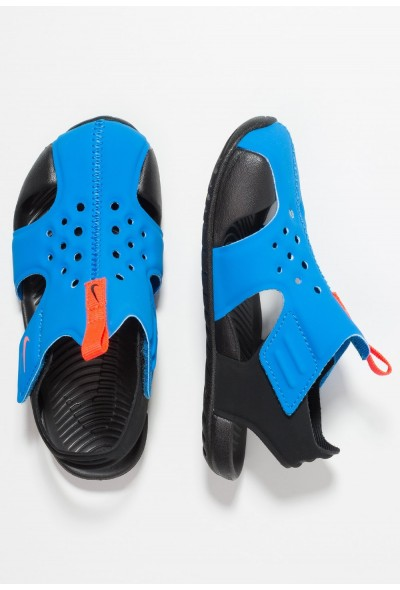 Black Friday 2019 - Nike SUNRAY PROTECT 2 - Sandales de bain photo blue/bright crimson/black