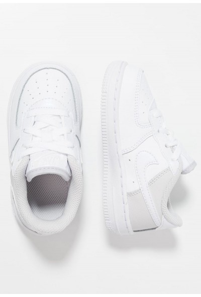 Nike NIKE FORCE 1 (TD) - Baskets basses white/vast grey