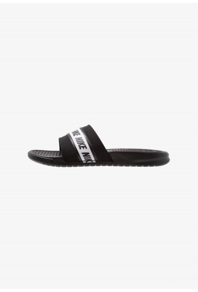 Nike BENASSI - Sandales de bain black/white