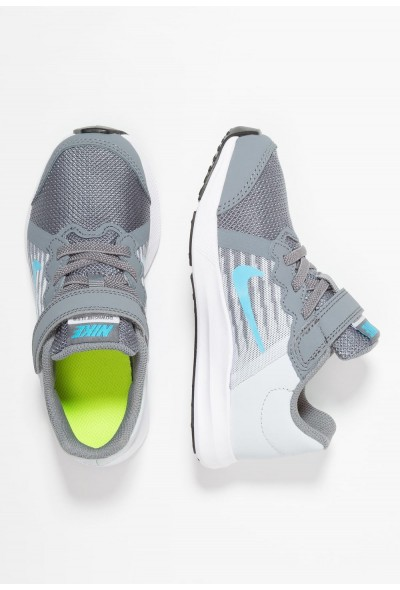 Nike DOWNSHIFTER 8 - Chaussures de running neutres cool grey/blue fury/pure platinum/white