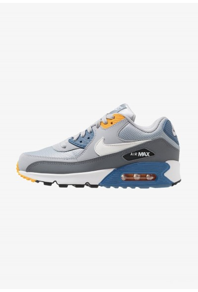 Nike AIR MAX 90 ESSENTIAL - Baskets basses wolf grey/white/indigo storm/university gold/cool grey/anthracite