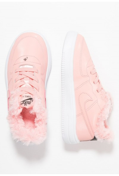 Nike FORCE 1 '18 VDAY - Mocassins bleached coral/black/white
