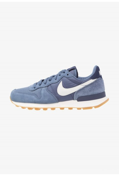 Nike INTERNATIONALIST - Baskets basses diffused blue/summit white/neutral indigo/sail/light brown