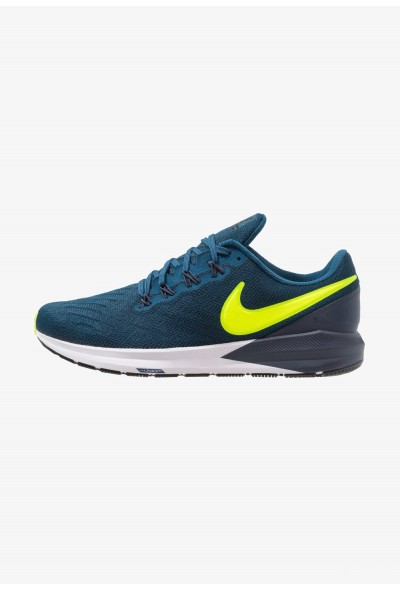 Nike AIR ZOOM STRUCTURE  - Chaussures de running stables blue force/volt/thunder blue/black/white