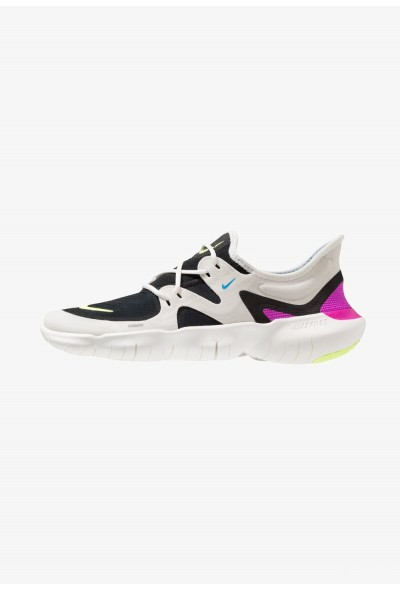 Nike FREE RN 5.0 - Chaussures de course neutres summit white/volt glow/black/blue hero
