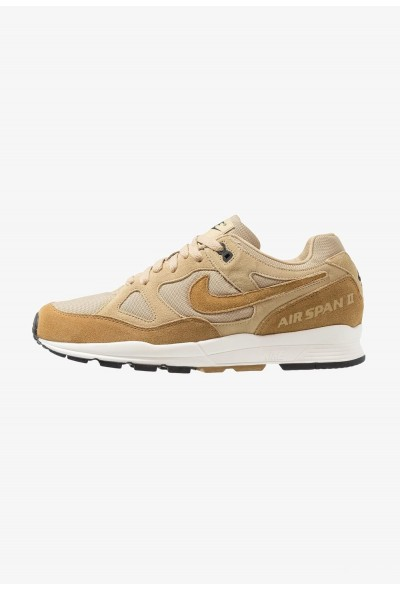 Nike AIR SPAN II - Baskets basses parachute beige/golden beige/black/pale ivory