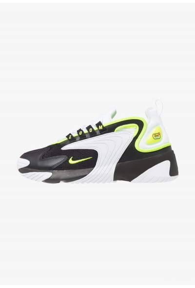 Nike ZOOM 2K - Baskets basses black/volt/white