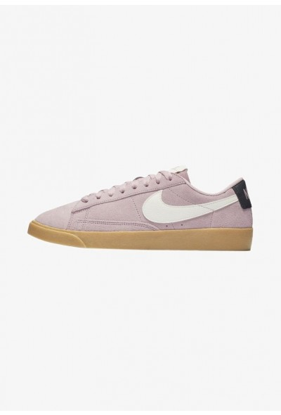 Nike BLAZER - Baskets basses plum chalk/oil grey/gum light brown/sail