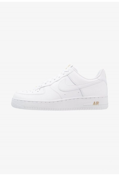Nike AIR FORCE - Baskets basses white/metallic gold