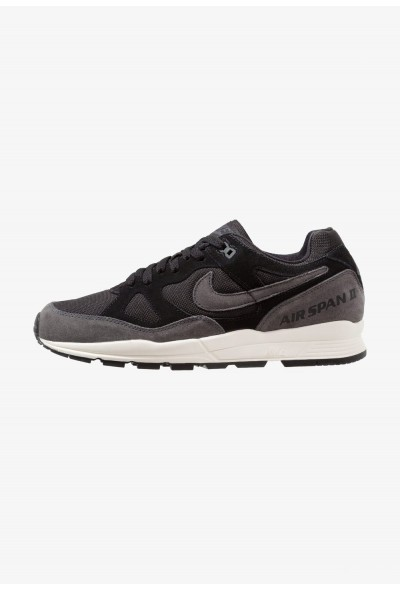 Nike AIR SPAN II - Baskets basses black/anthracite/pale ivory