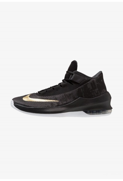 Black Friday 2019 - Nike AIR MAX INFURIATE 2 MID - Chaussures de basket anthracite/metallic gold/black/white