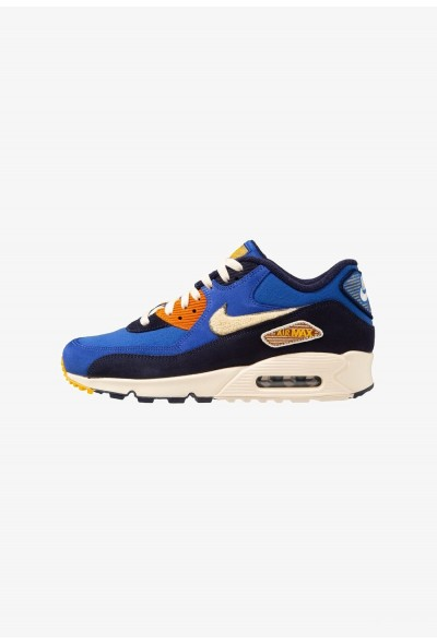 Nike AIR MAX 90 PREMIUM SE - Baskets basses game royal/light cream/camper green/blackened blue/monarch/yellow ochre
