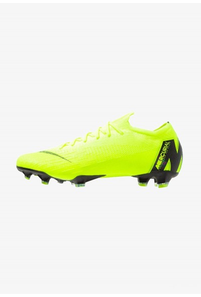 Nike MERCURIAL VAPOR 12 ELITE FG - Chaussures de foot à crampons neon yellow