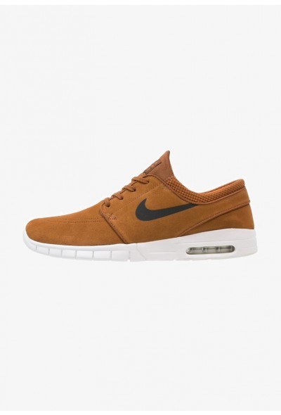 Nike STEFAN JANOSKI MAX - Baskets basses hazelnut/black/ivory/clay orange