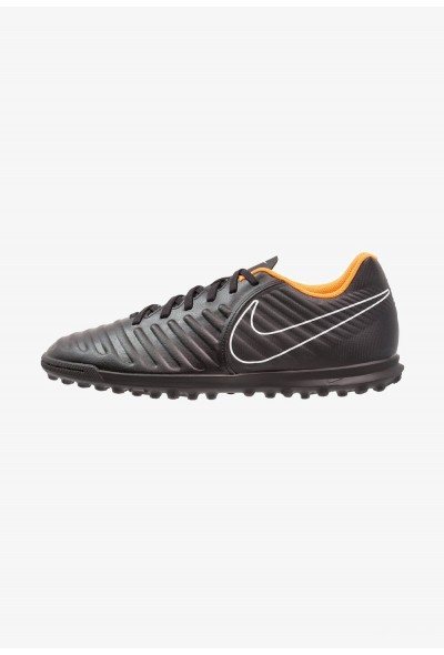 Nike TIEMPO LEGENDX 7 CLUB TF - Chaussures de foot multicrampons black/total orange/white