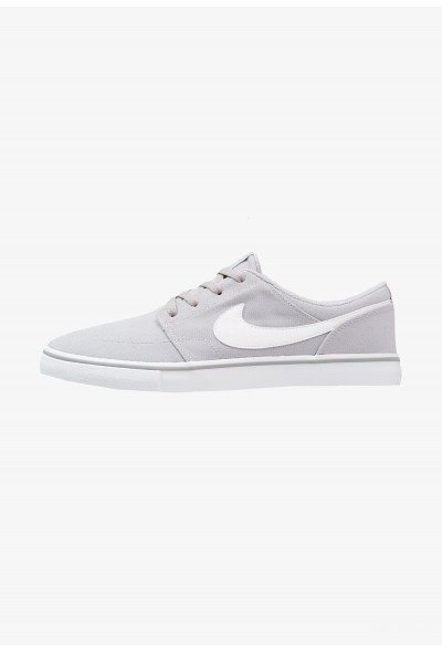 Nike PORTMORE II SS CNVS - Baskets basses wolf grey/white/black