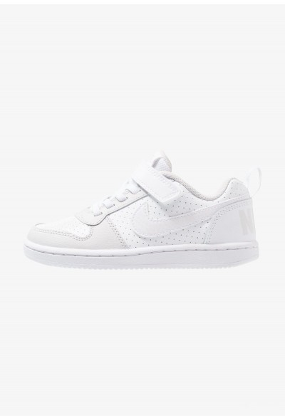 Nike COURT BOROUGH - Baskets basses white/vast grey