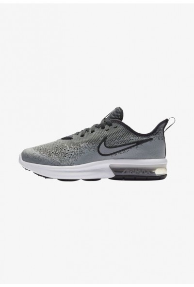 Nike AIR MAX SEQUENT 4 - Chaussures de running neutres wolf grey/anthracite/white