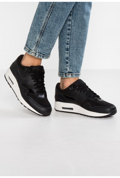 Nike AIR MAX 1 - Baskets basses black/summit white
