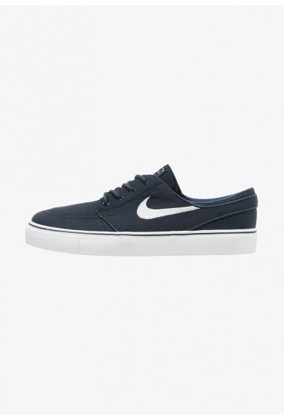 Nike ZOOM STEFAN JANOSKI - Baskets basses obsidian/white/light brown/metallic