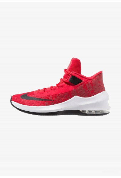 Nike AIR MAX INFURIATE 2 MID - Chaussures de basket university red/black/white