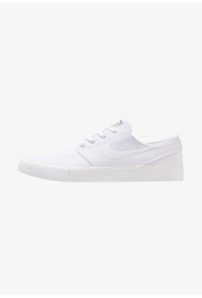 Nike ZOOM JANOSKI - Baskets basses white/light brown/black/photo blue/hyper pink