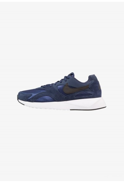Nike PANTHEOS - Baskets basses midnight navy/black/white