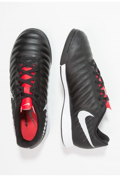 Nike TIEMPO LEGENDX 7 ACADEMY IC - Chaussures de foot en salle black/pure platinum/light crimson